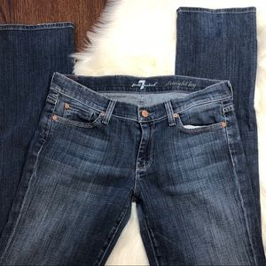 7 For All Mankind Straight cut Jeans size 29